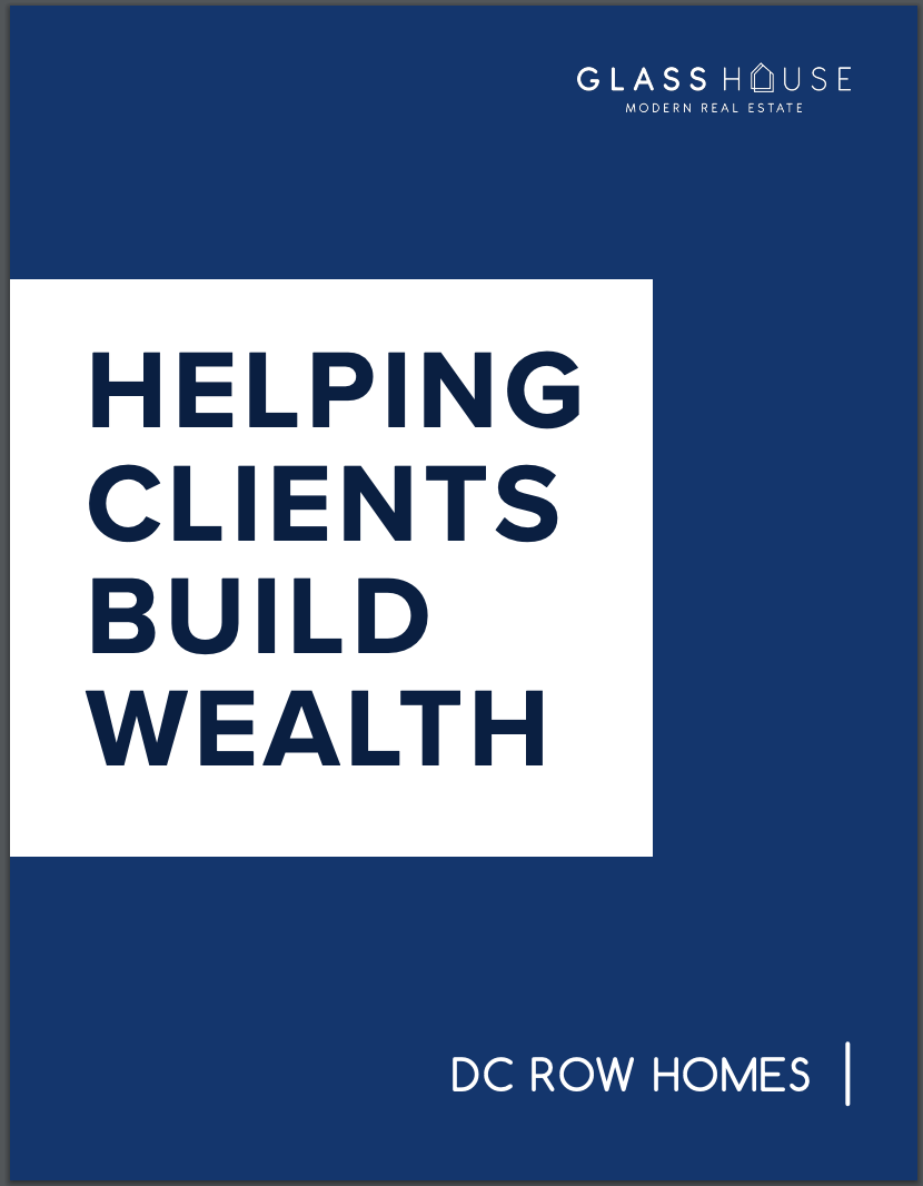 Helping clients build real estate wealth