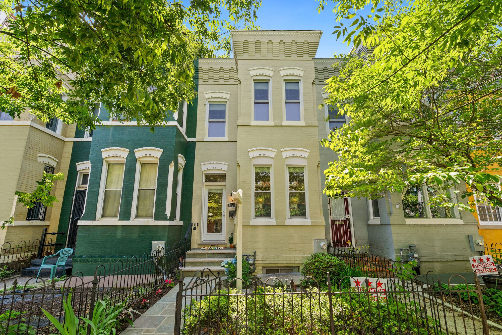 Fully Renovated Row House in the H Street Corridor of Washington DC