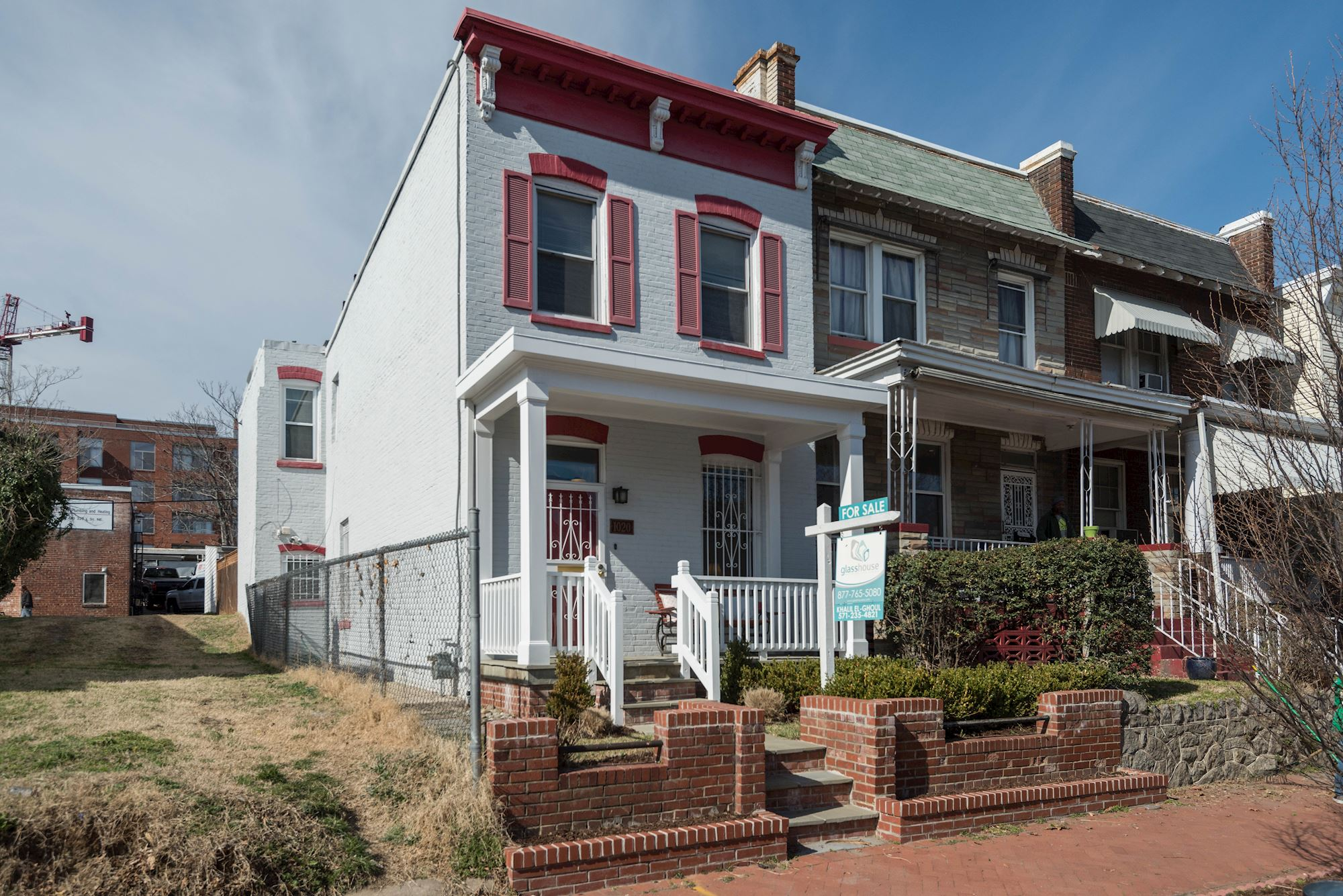 SOLD: Beautifully Renovated Row Home in D.C.