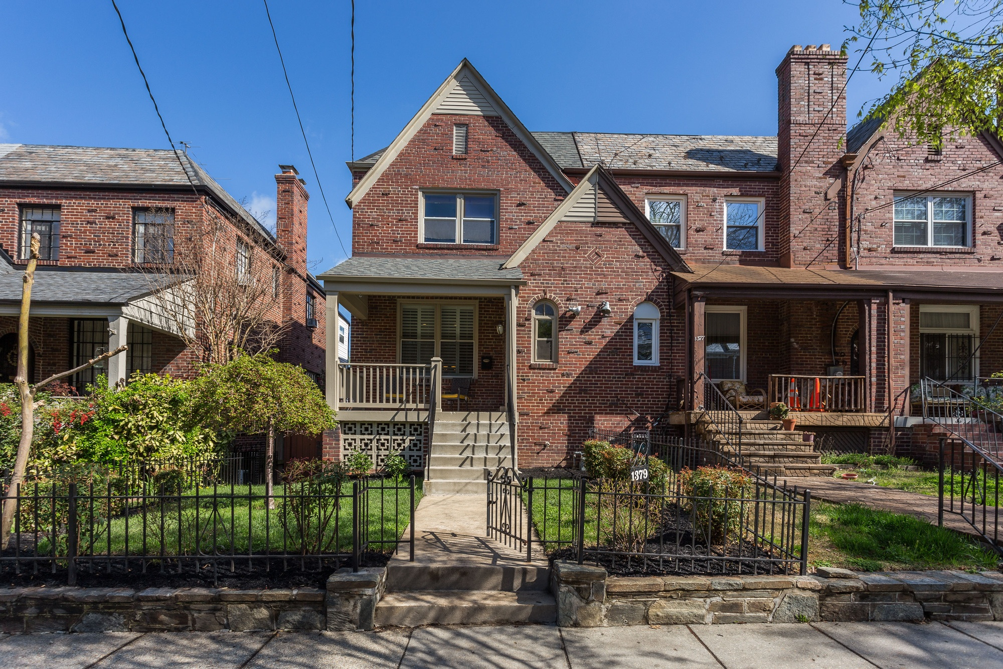 SOLD: Old English Row Home in Brightwood