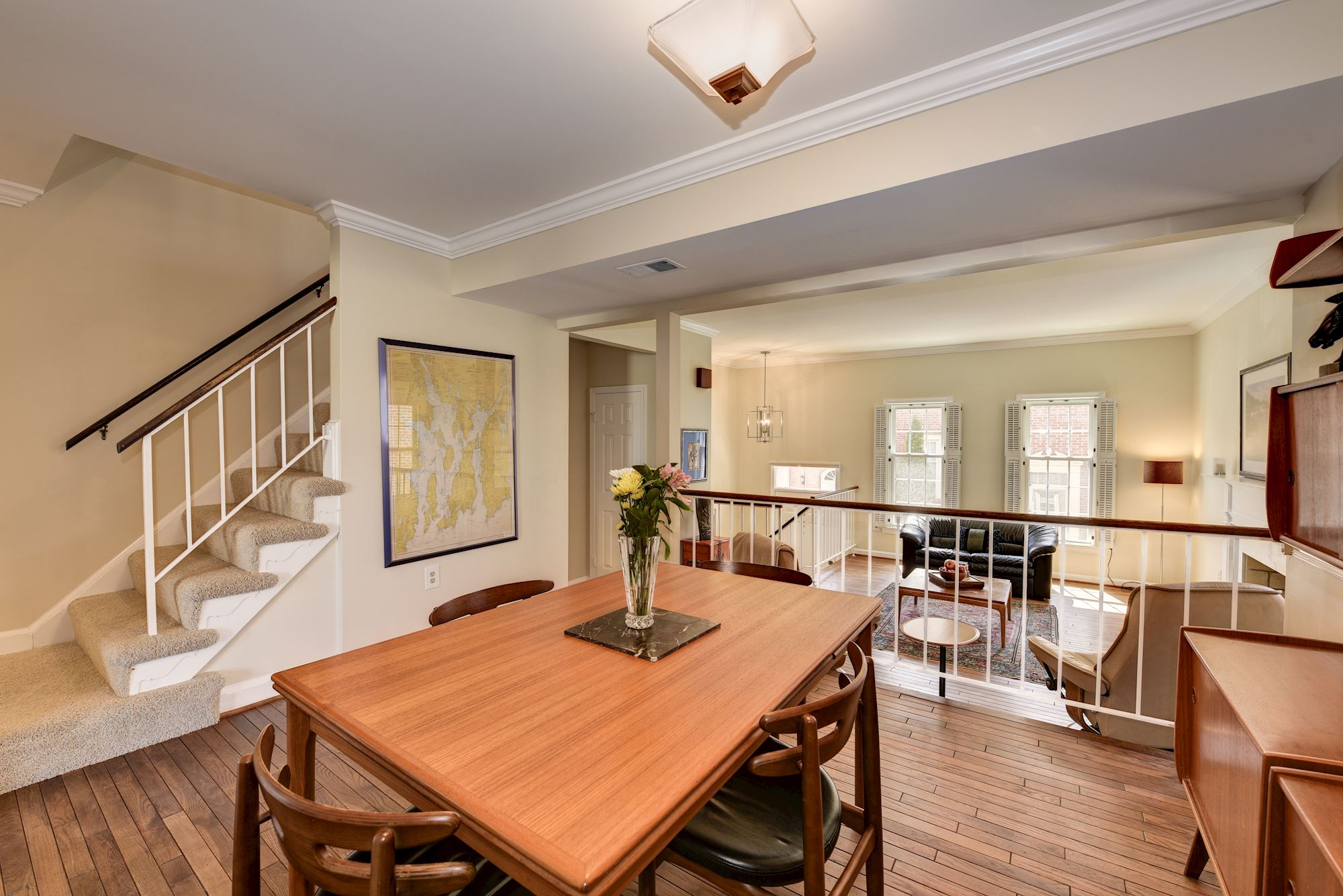 SOLD: Stately All Brick Townhome in Alexandria