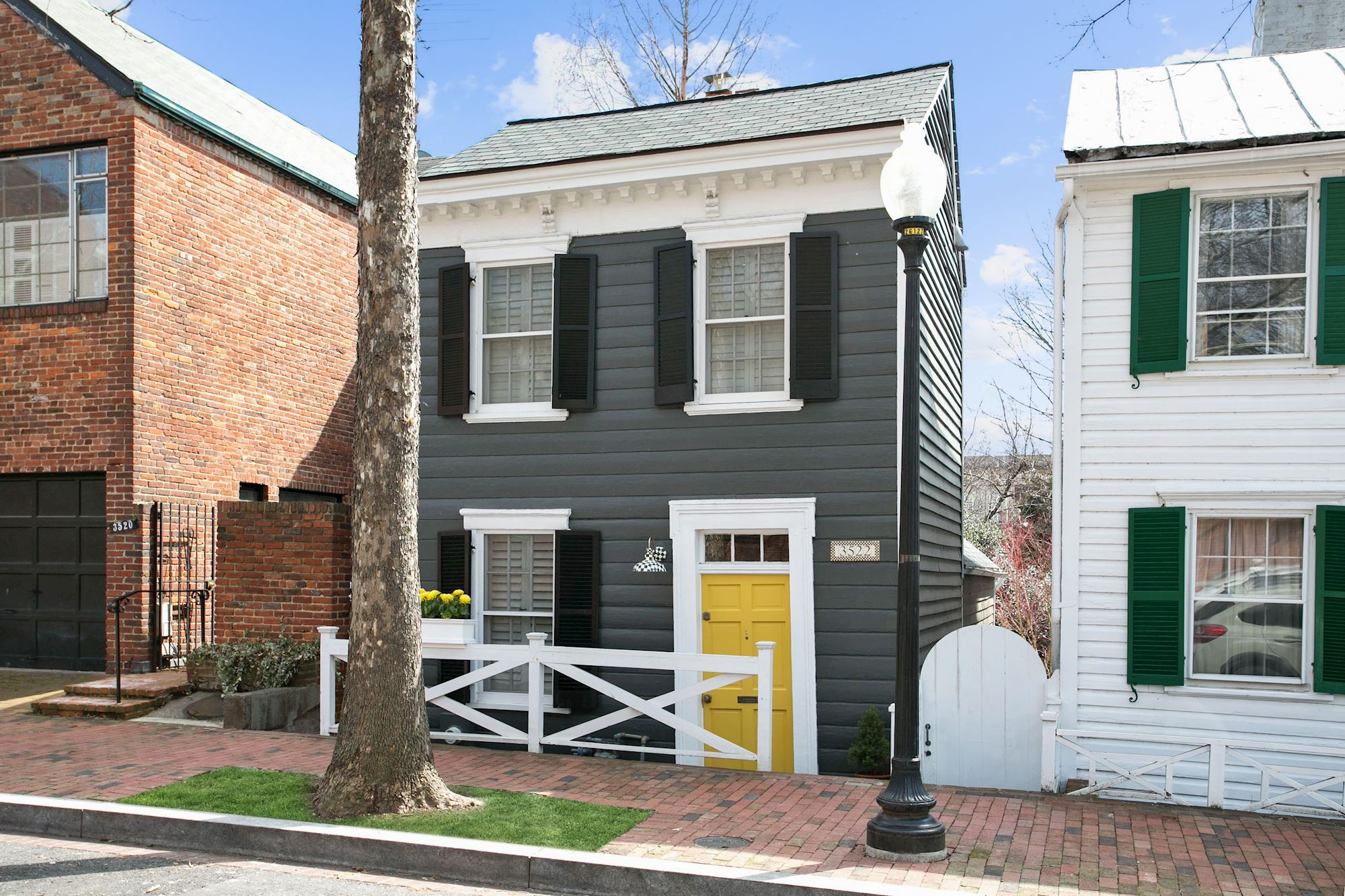 NEW LISTING: Detached Georgetown Federal Home in West Village