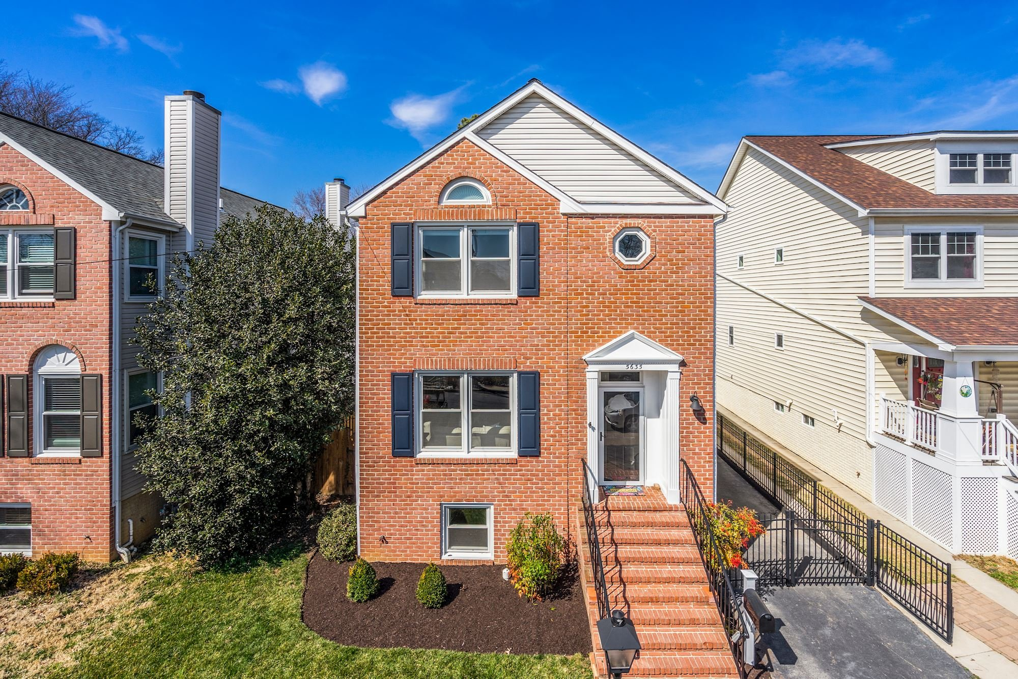 Perfectly Proportioned 4BR/3.5BA Single Family Home in Arlington, VA