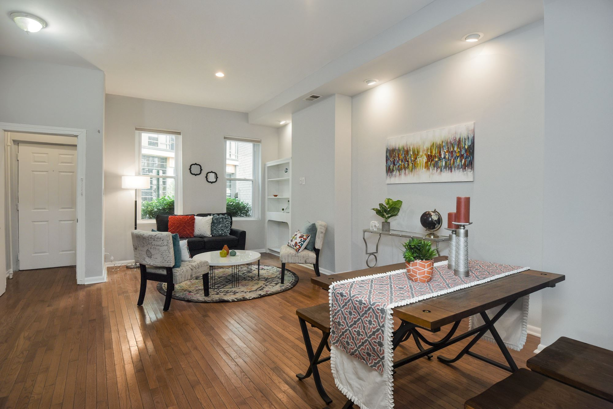 Fantastic 3 BD End Unit Row Home in Shaw Neighborhood, Washington DC